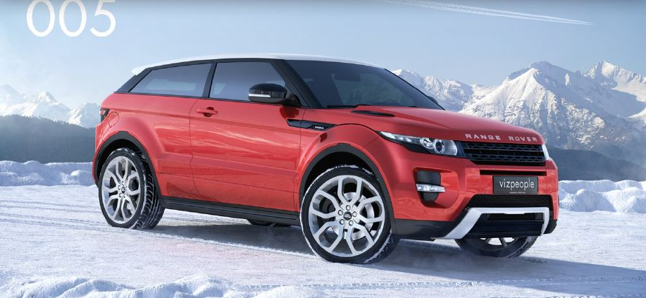 range rover evoque 3d model free download
