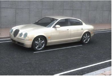 Jaguar S-Type 3D car model