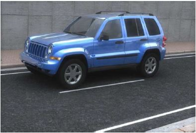 Jeep Liberty 3D car model