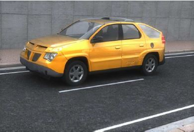 Pontiac Aztek 3D car model