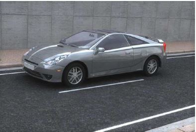 Toyota Celica 3D car model