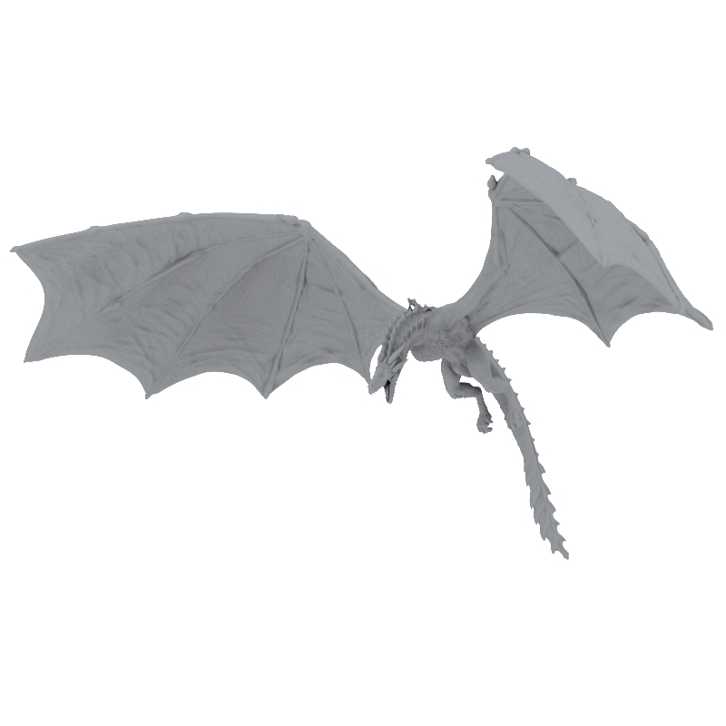 game-of-thrones-dragon-3d-print model