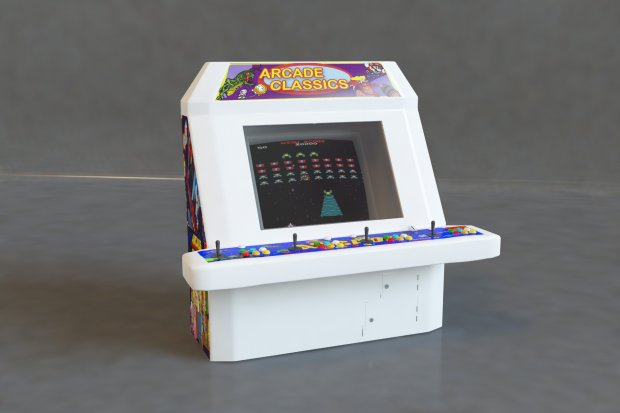 Arcade Machine free 3d model download