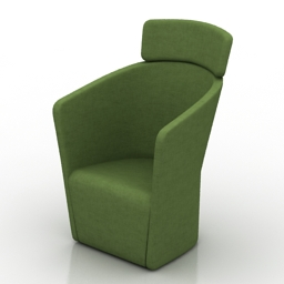 Armchair Bene free 3d model download