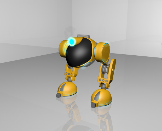 Biped Rigged free 3d model download