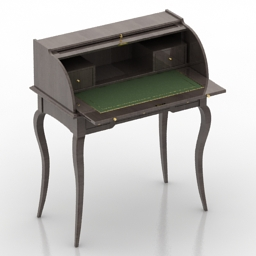 Bureau Panamar free 3d model download