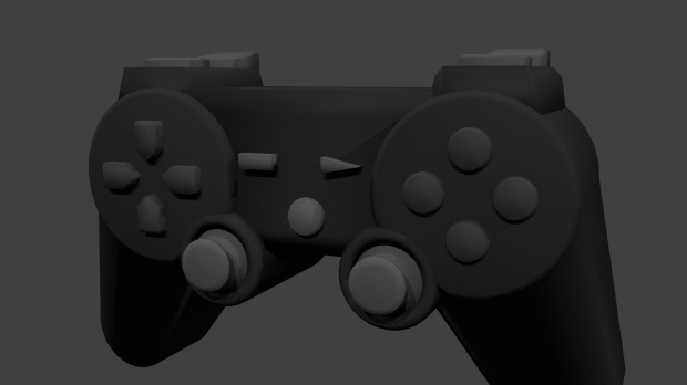 Console Game Controller free 3d model download