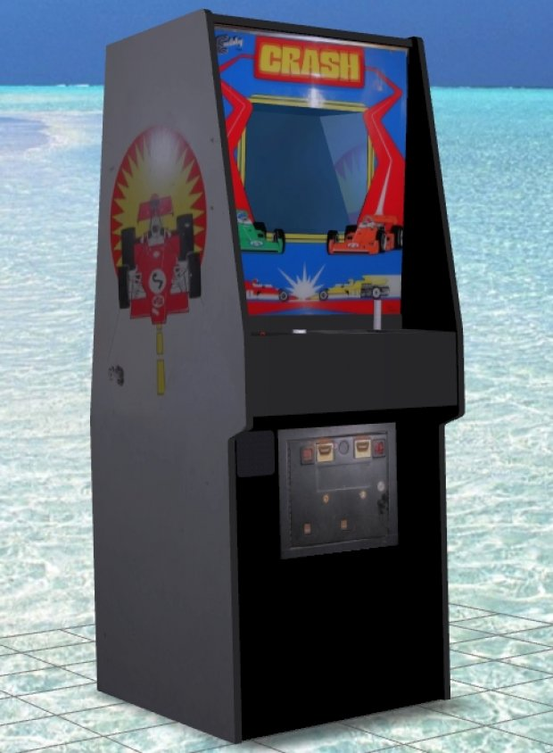 Crash Upright Arcade Machine free 3d model download