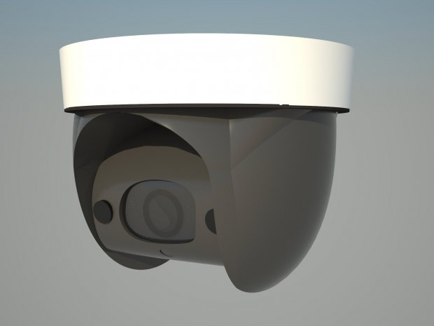 Modern 2015 Surveillance Camera free 3d model download