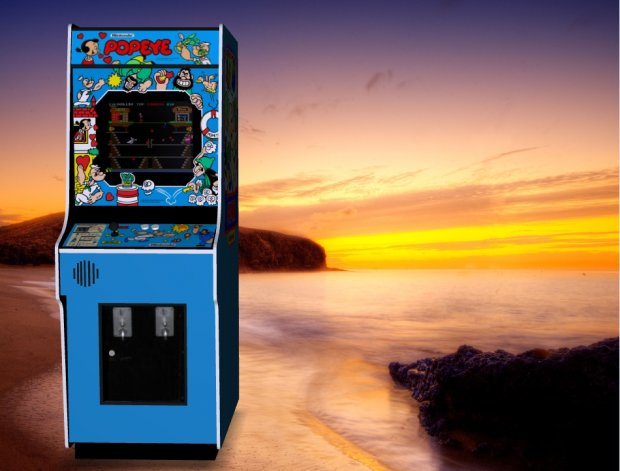 Popeye – Upright Arcade Machine free 3d model download