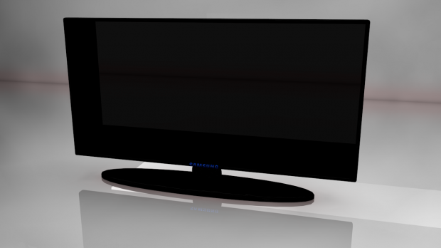 Samsung TV free 3d model download
