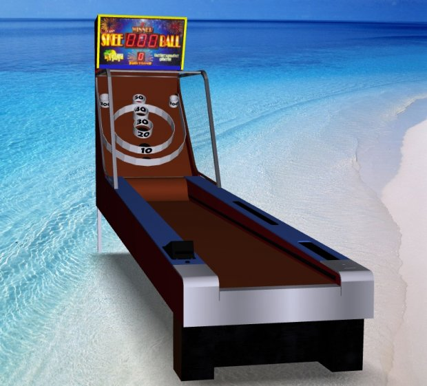 Skee Ball – Arcade Attraction free 3d model download