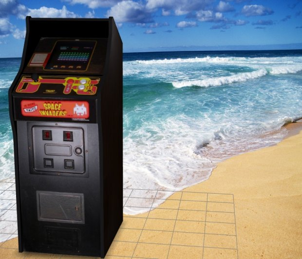 Space Invaders – Upright Arcade Machine free 3d model download