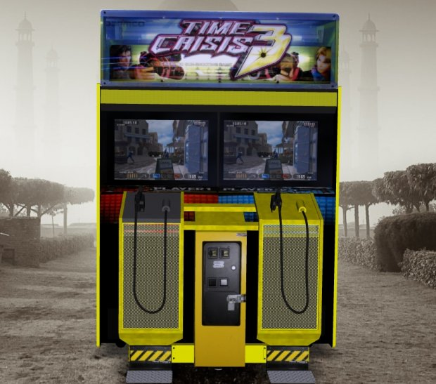 Time Crisis 3 – Upright Arcade Machine free 3d model download
