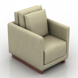 Armchair Giordano free 3d model download