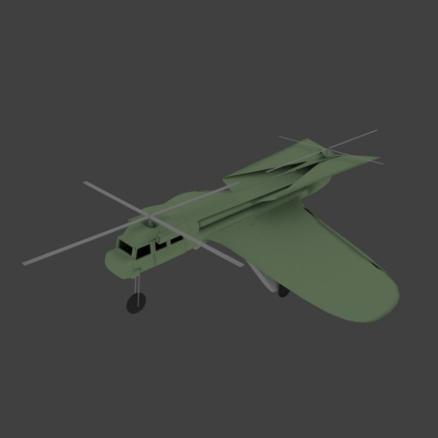 Carrier drone free 3d model download