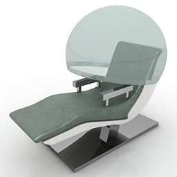 Armchair energypod free 3d model download