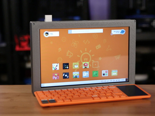 10in Raspberry Pi 2 Tablet free 3d print model download