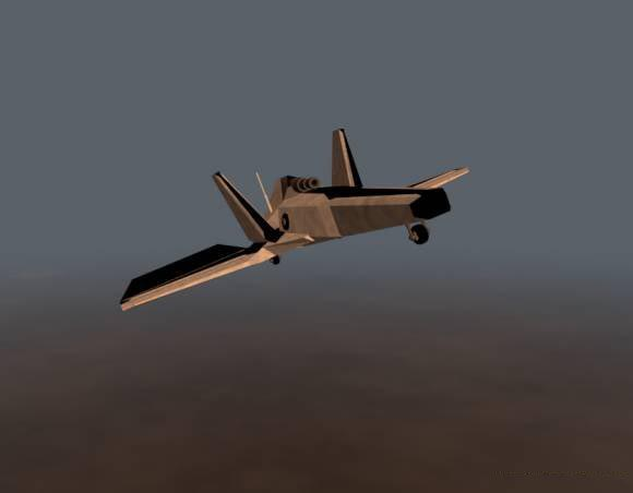 Low Poly Air Drone free 3d model download