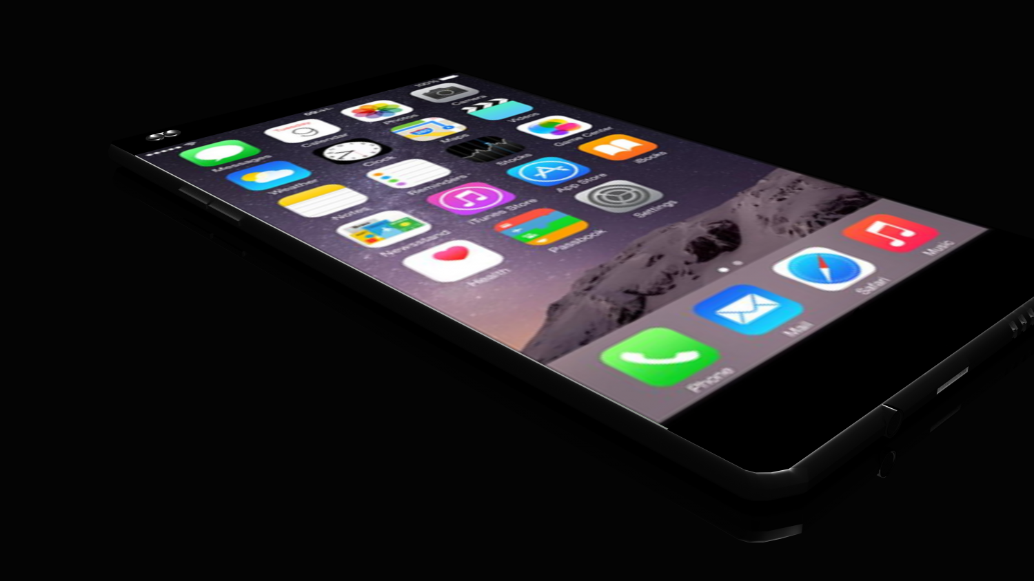Concept iphone 7 free 3d model download