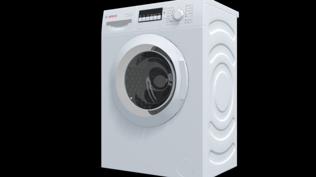 Bosch washing machine free 3d model download