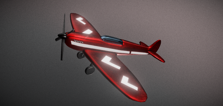 Supermarine Spitfire free 3d model download