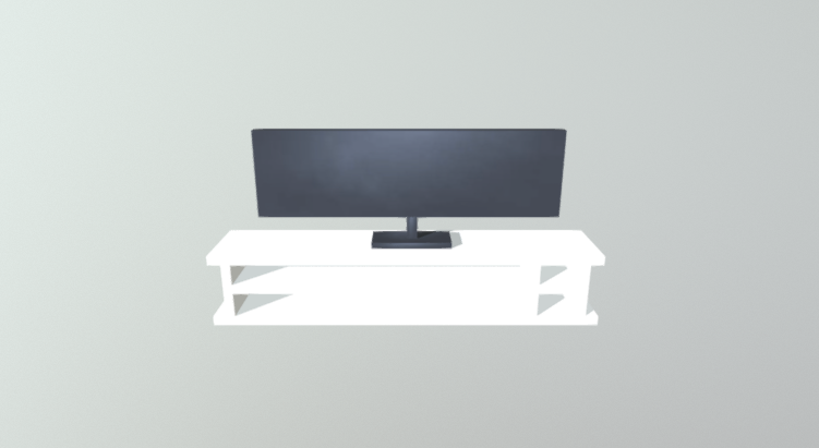 Commode With TV free 3d model download