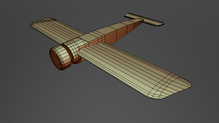 FOKKER E III Base free 3d model download
