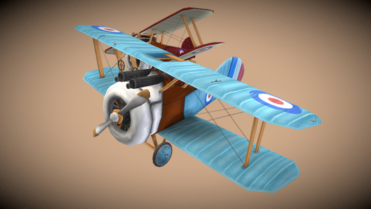 Racing fighters free 3d model download