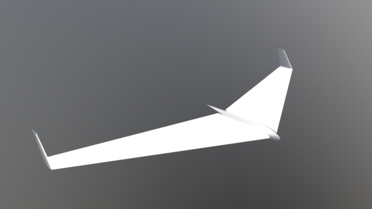 Flying Wing 78 free 3d model download