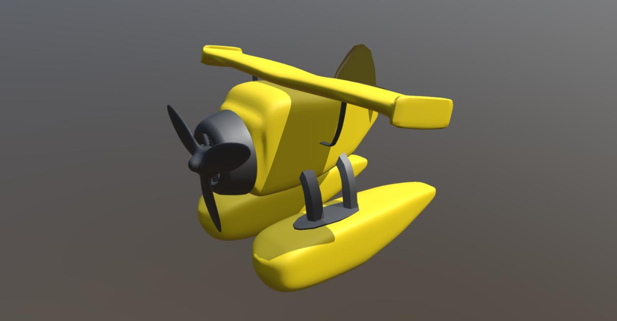 Hydroplane Toy free 3d model download