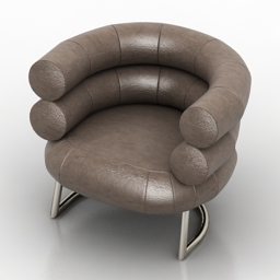 Armchair Bingo DLS free 3d model download
