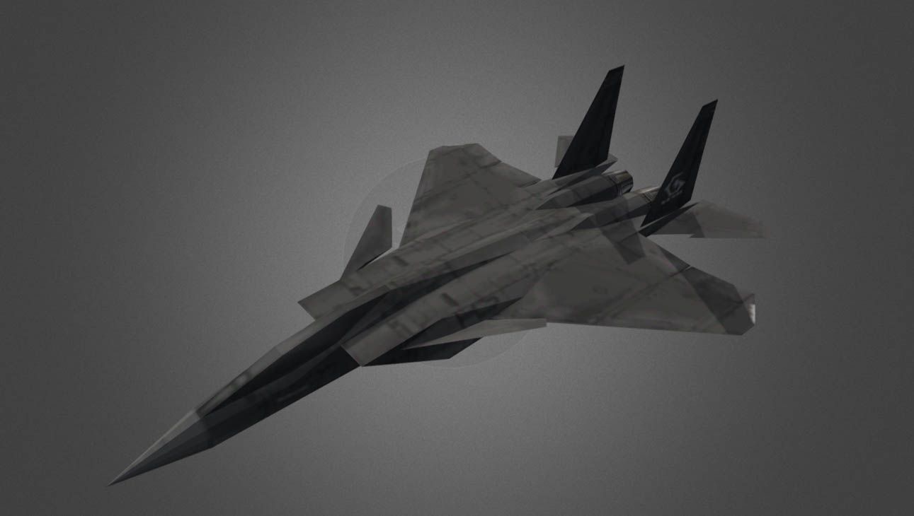 F-15SMT (O) Ace Combat 3 free 3d model download