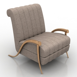 Armchair Visionaire free 3d model download