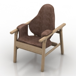 Armchair SED free 3d model download