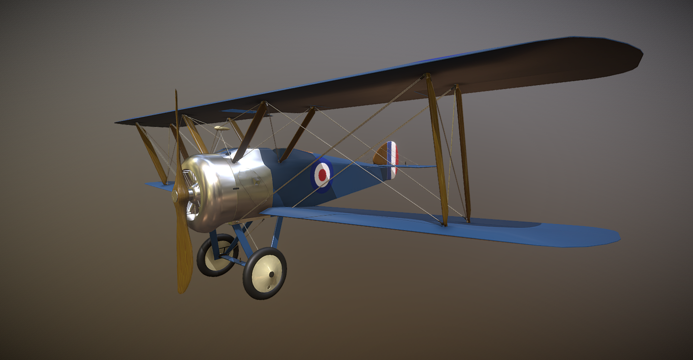 Sopwith free 3d model download