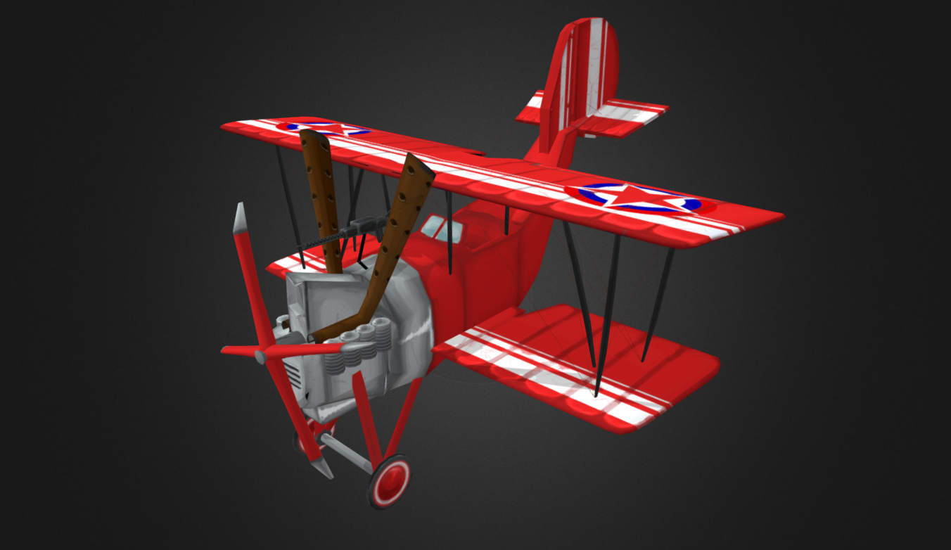 Flying Circus – Harry Tate free 3d model download