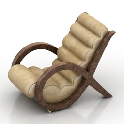Armchair LUCCA free 3d model download