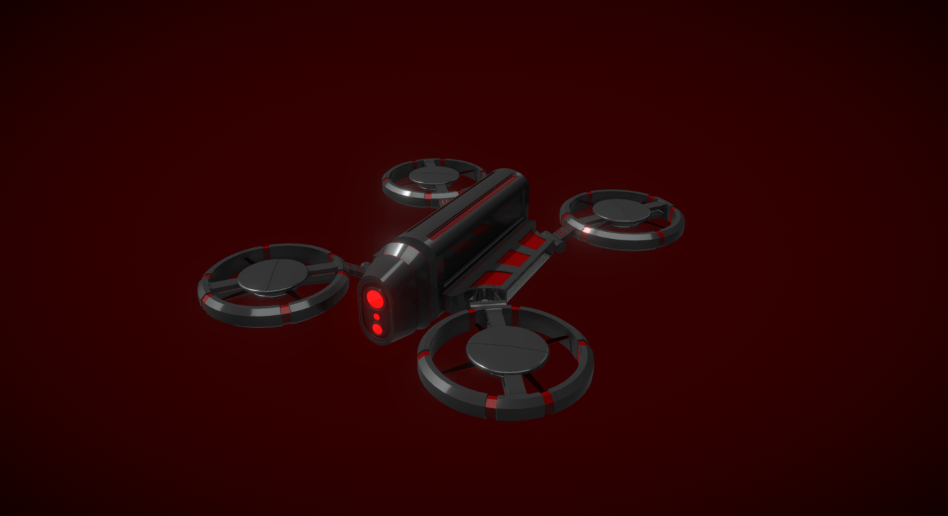 Drone free 3d model download