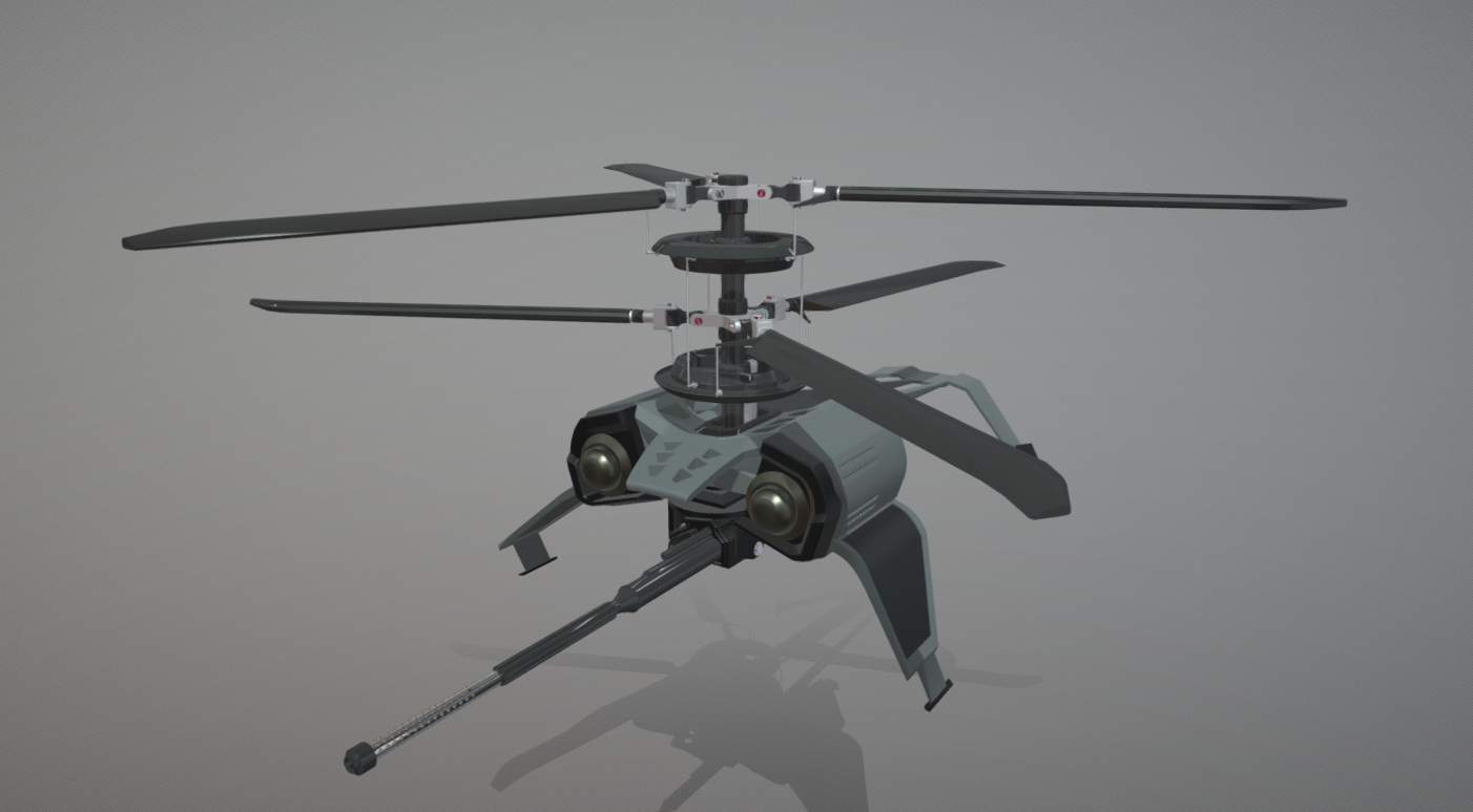 "KA-13 ""Gnatling"" free 3d model download"