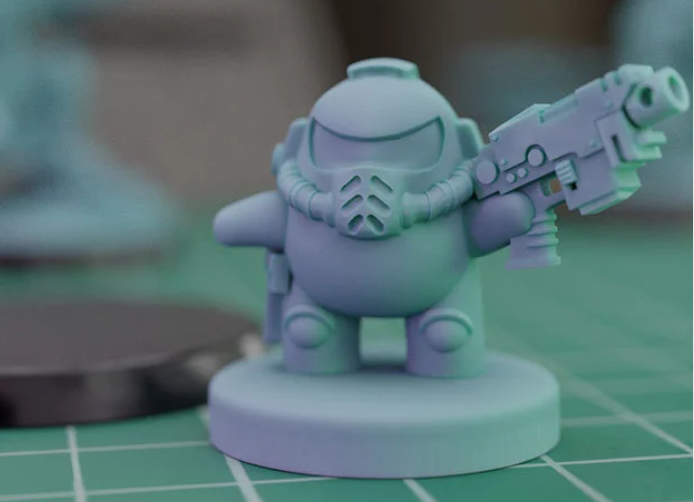AMONG US MARINE free 3d print model download