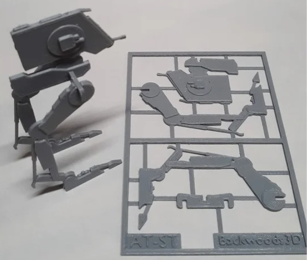 AT-ST Kit Card free 3d print model download
