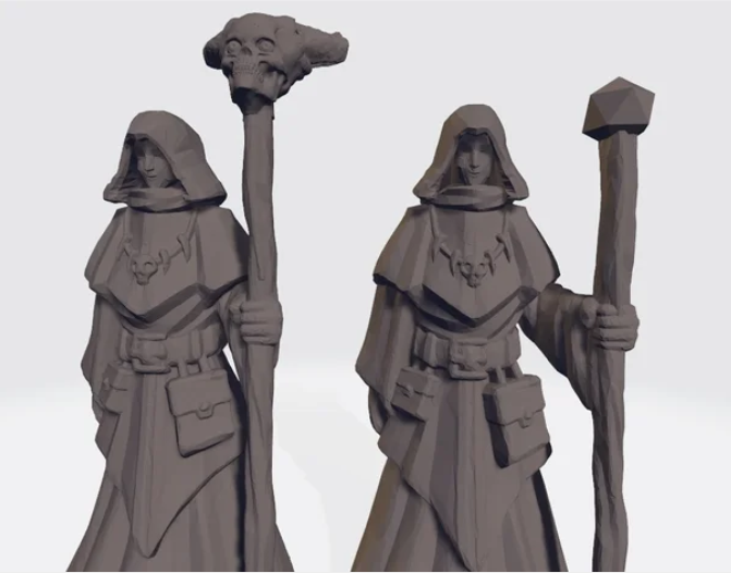 Cultists free 3d print model download