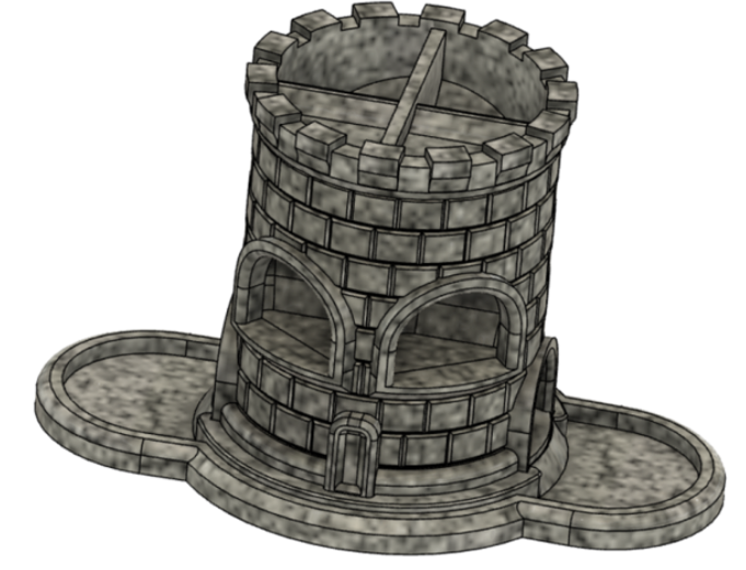 Double Dice Tower free 3d print model download