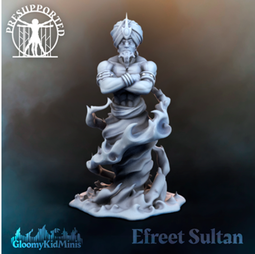 Efreet Sultan free 3d print model download