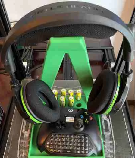 Headphone Stand free 3d print model download