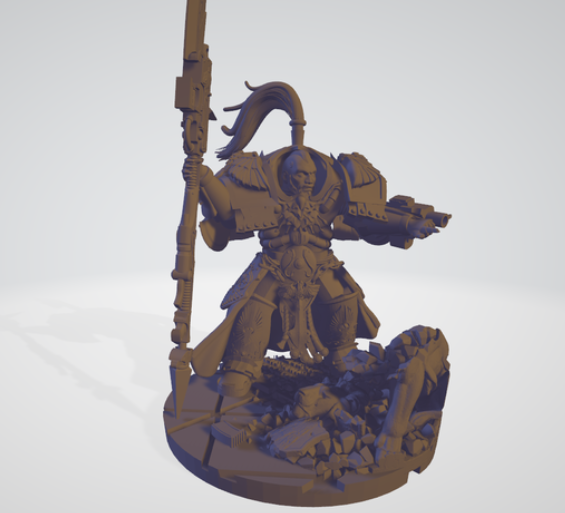 Meet Shield-Captain Kaarstodees free 3d print model download