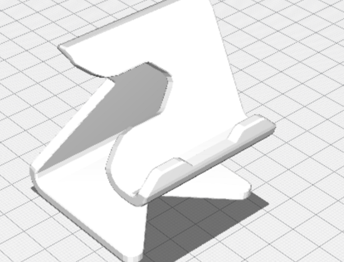 NoSupports Universal PhoneStand Model free 3d print model download
