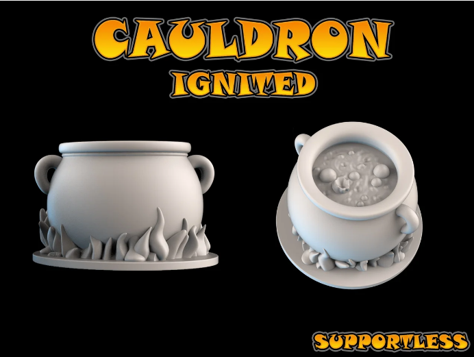Cauldron free 3d print model download
