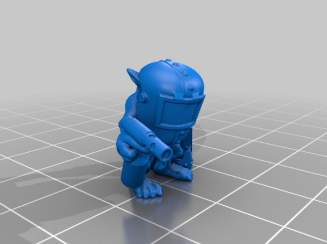 Goblin Krew free 3d print model download